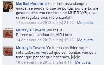 CAMISETAS MURRAY´S